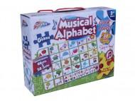 Puzzle de podea muzical - Alfabetul vesel