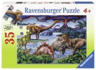 Puzzle dinozauri, 35 piese