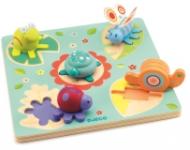 Puzzle Djeco relief Lilo Ţestoasa şi prietenii