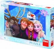 Puzzle - Frozen SELFIE (24 piese)