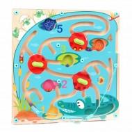 Puzzle labirint - Crocodilul