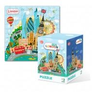 Puzzle - Londra (120 piese)