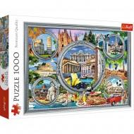 PUZZLE TREFL 1000 CITY BREAK ITALIA