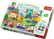 PUZZLE TREFL 36 FLIP FLAP INVATAND VEHICULELE