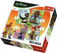 PUZZLE TREFL 4IN1 PORTRETE
