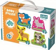 PUZZLE TREFL BABY CLASIC ANIMALELE PADURII
