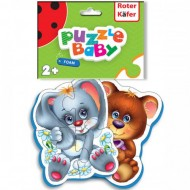 Roter Kafer Puzzle Ursulet-Iepuras