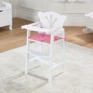 Scaunel inalt pentru papusi Lil' Doll High Chair - Kidkraft