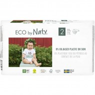 Scutece marimea 2, 33buc, 3-6kg, ECO by Naty