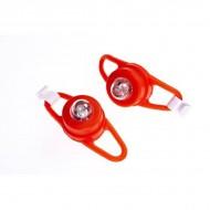 Semnalizatoare luminoase pentru curucioare si biciclete Proviz rosu