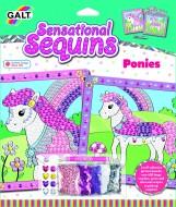 Sensational Sequins: Set 2 tablouri cu ponei -New edition
