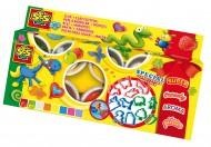 SES Modelaj - Set 8 culori si 12 accesorii