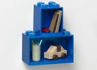Set 2 rafturi Caramida LEGO® - Albastru