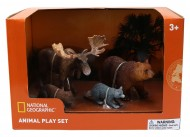 Set 4 figurine - Elan, Raton, Urs, Castor