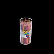 Set 48 creioane colorate triunghiulare maxi mina 4 mm