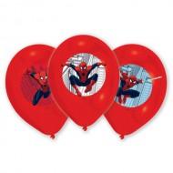 Set 6 baloane latex Spider-Man 275 cm