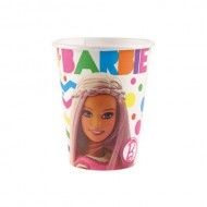 Set 6 pahare Barbie Sparkle 226 ml
