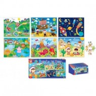 Set 6 puzzle baieti-Kids Create