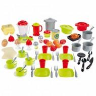 Set 70 Vase cu Mixer in Cutie de Depozitare Colectia 100% Chef