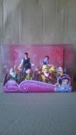 Set 9 figurine Alba ca Zapada