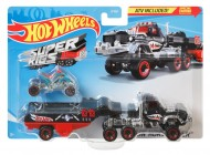 SET CAMION SI MASINA SPORT HOT WHEELS HAULIN HORSEPOWER