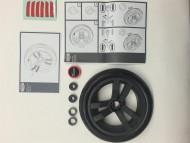 Set capace roti Buzzy Fiat 500