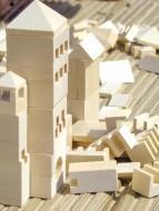 Set constructie din lemn Varis Oras 107