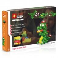 Set de constructie Stax System Reptiles V2, compatibil Lego®