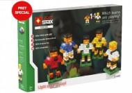 Set de constructie Stax System Soccer V2, compatibil Lego®