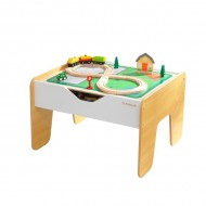 Set de joaca 2 in 1 - Activity Table with Building Bricks Board - KidKraft