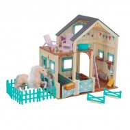 Set de joaca Sweet Meadow Horse Stable - KidKraft