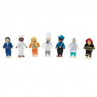 Set de papusi Profesii Doll Set - Kidkraft