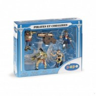 Set figurine Papo - Set pirati (5 fig)
