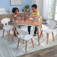 Set masa cu 4 scaune -Mid-Century Kid™ Toddler - kidkraft