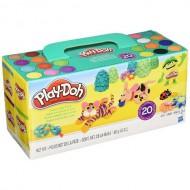Set Plastilina Play Doh 20 Cutii