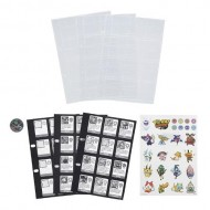 Set Rezerva Pagini pentru Cartea Colectionarului de Medalii Yo-Kai