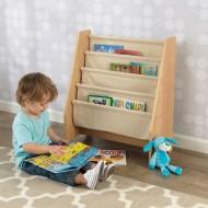 Spatiu depozitare carti Sling Bookshelf, Natural - Kidkraft