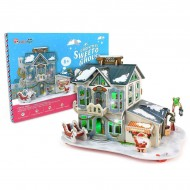 Sweet House-Puzzle 3D-56 piese