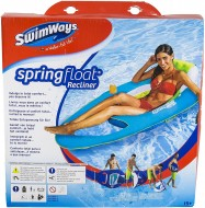 SWIMWAYS SEZLONG PLUTITOR RECLINER CU SPATAR SI SUPORT PAHARE