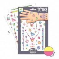 Tatuaje Djeco bijuterii neon