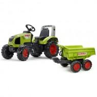 Tractor cu Pedale Claas Axos 330 cu Remorca Maxi