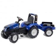 Tractor New Holland cu Pedale si Remorca
