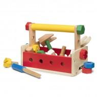 Trusa de unelte si scule din lemn - Micki