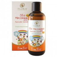 Ulei de masaj BimBìo cu Migdale dulci si Vanilie, Organic