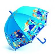 Umbrelă colorată Djeco Ocean
