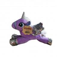 Unicorn paiete lila- 30cm