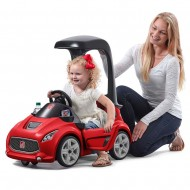 Vehicul rosu TURBO COUPE FOOT-TO-FLOOR